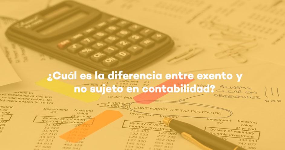 exento-contabilidad